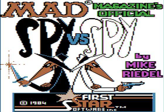 Spy vs Spy Apple II Loader/Title