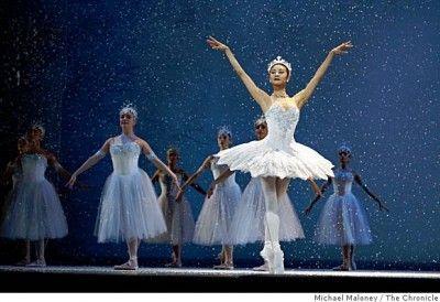 SF Ballet's Nutcracker on PBS: Yuan Yuan Tan as Snow Queen ...