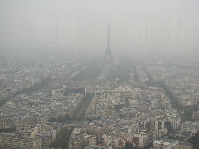 Panorama depuis la Tour de Montparnasse, Paris