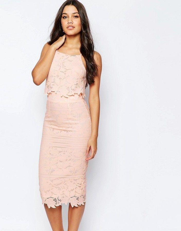 Lace dress asos models