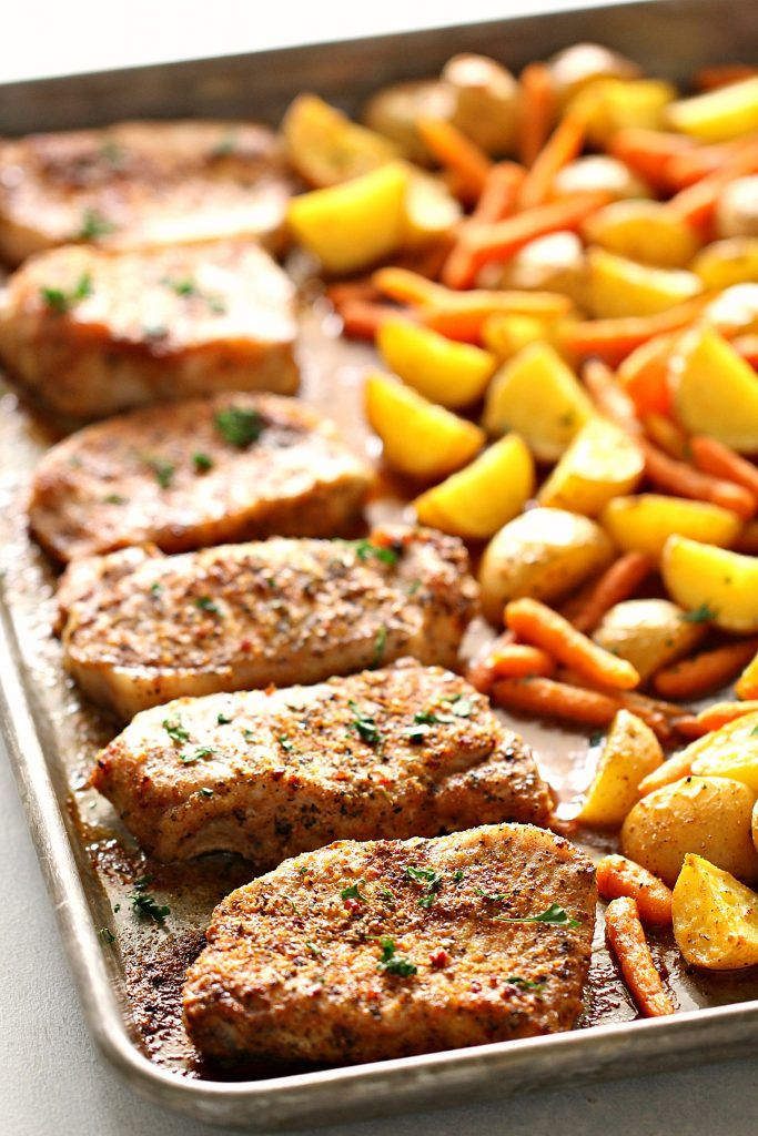 Italian Chicken with Potatoes and Carrots   Six Sisters' Stuff