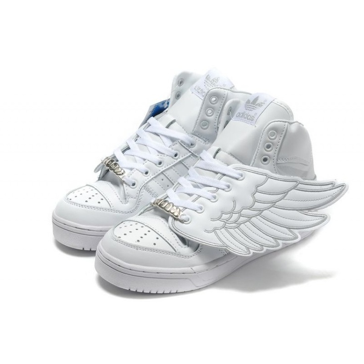 Best Men adidas Originals x Jeremy Scott JS Wings white For £77.72