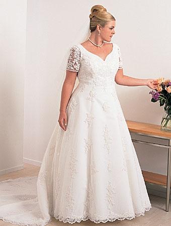 Plus Size Wedding Dress Love Forever