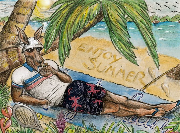 Enjoy summer with #Australian! #Rooman #Australianofficial
