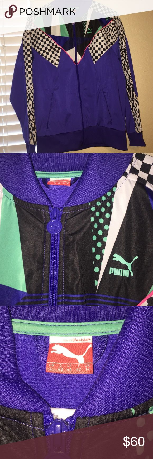 PUMA SPORT JACKET. OFFERS WELCOME. NWOT. Purchased in Italy. Puma Jackets & Coats