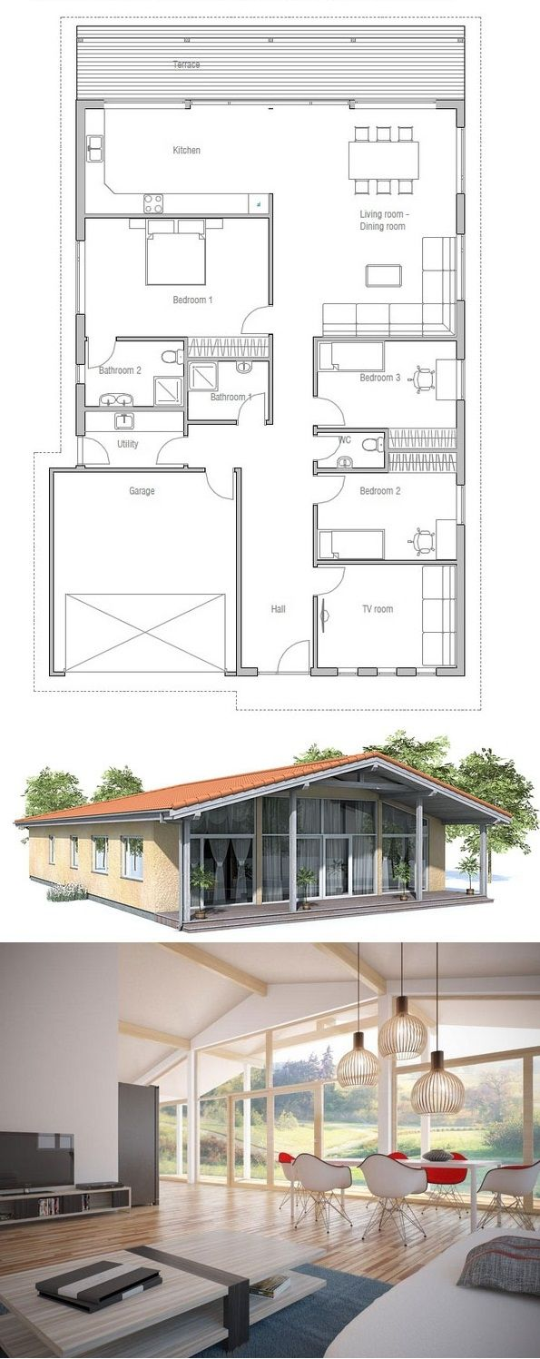 House Plan, Floor Plan from ConceptHome.com