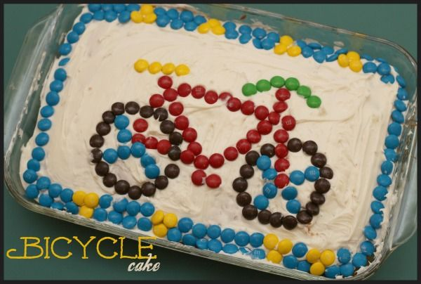 Bicycle Birthday Cakes How To Make