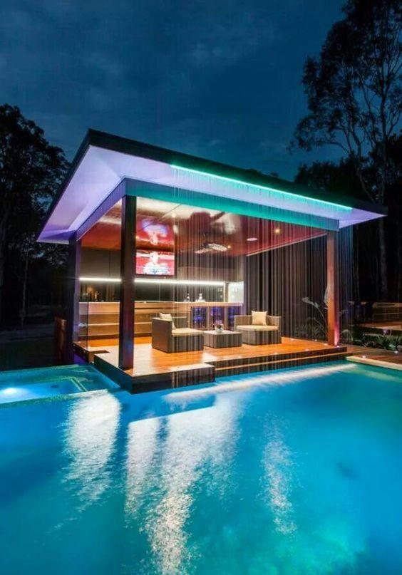 Pool house, un coin de paradis au bord de votre piscine - Artsdeco - amenagement bord de piscine