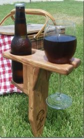 Glamping: This is how I roll.  Replace the beer with a shot of whiskey and you've got a deal.