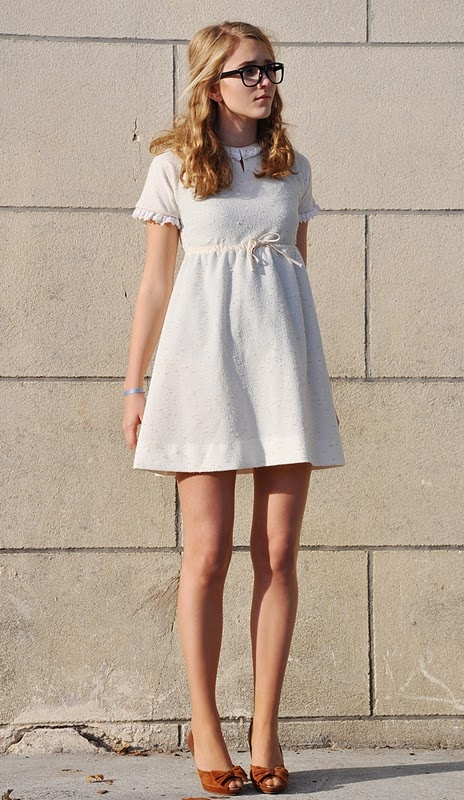 Why am I so attracted to dresses that make you look like a toddler? LOVE.