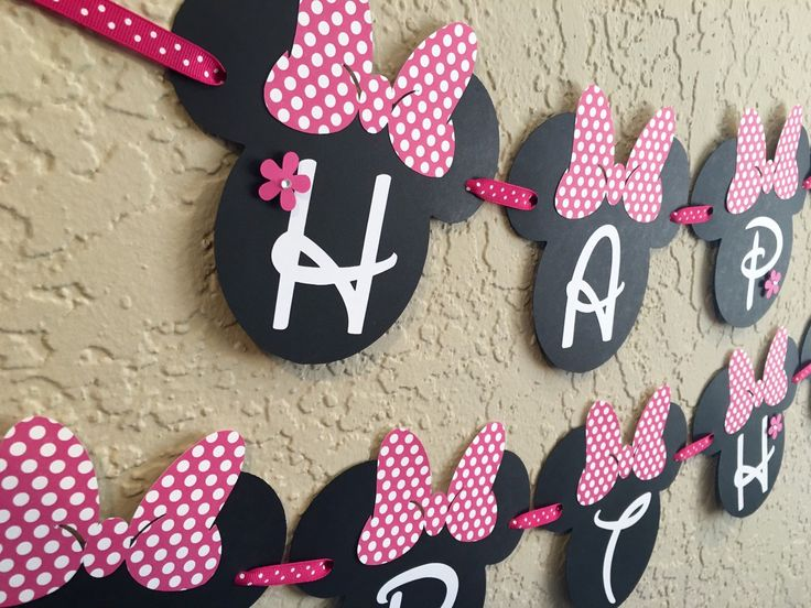 Minnie Mouse Birthday Banner, Minnie Mouse Party, Minnie Mouse Birthday, Minnie Mouse Banner, Minnie, Minnie Mouse Birthday Outfit