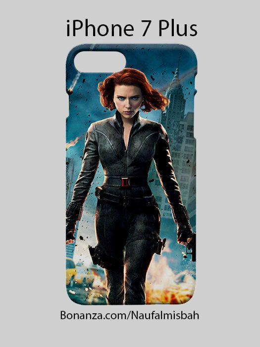 Black Widow Marvel iPhone 7 PLUS Case Cover Wrap Around