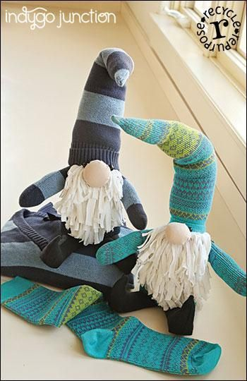 Craftsy : Show Your Spirit Stuffed Gnomes