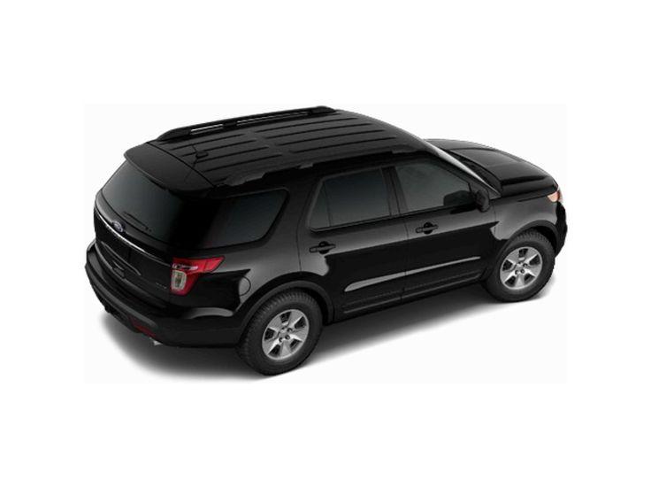 2014 Ford Explorer Black