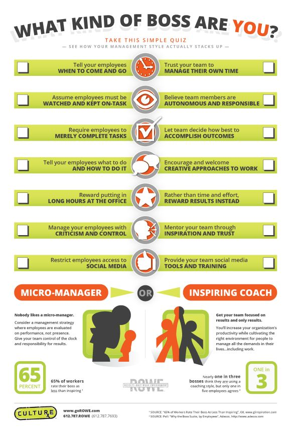 What's your management style?
