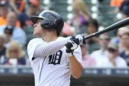Detroit Tigers center fielder JaCoby Jones left Saturday's game after being hit in the face by a pitch from Minnesota Twins reliever Justin…