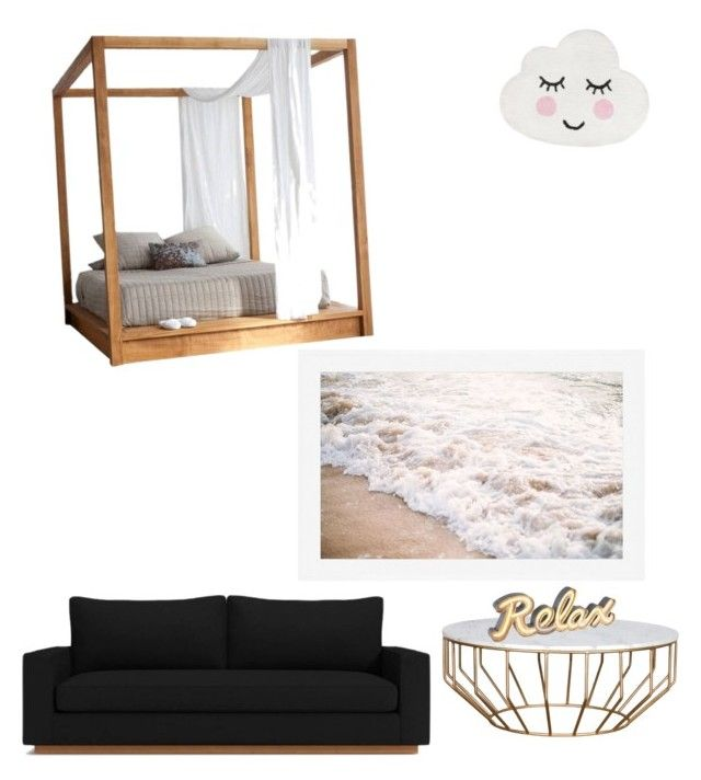 """""""Untitled #104"""" by anais-maria on Polyvore featuring interior, interiors, interior design, home, home decor, interior decorating, MASH Studios and Pottery Barn"""