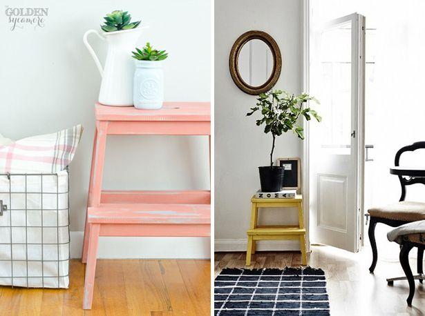 82 beste afbeeldingen van ikea keukentrap step ontlasting geschilderde krukjes en ikea hacks - Ikea portaspezie bekvam ...