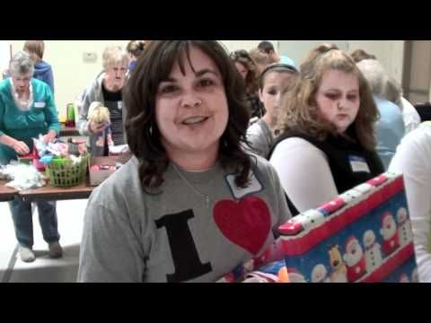 Operation Christmas Child Packing Party - YouTube | Videos ...