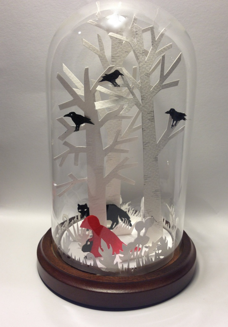 Red Riding Hood In A Bell Jar.