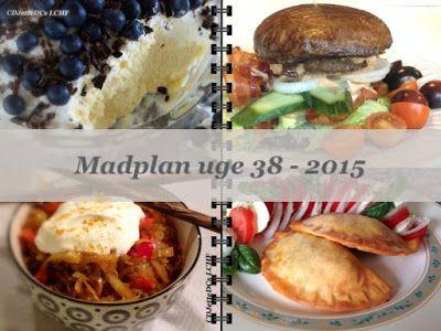 CDJetteDC's LCHF: MADPLAN uge 38 - 2015