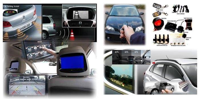 Jasa Pasang Aksesoris Mobil Panggilan,melayani pemasangan Aksesoris Mobil Kaca Film,Audio,Alarm,Sensor Kamera Parkir,Spoiler,Anti Karat
