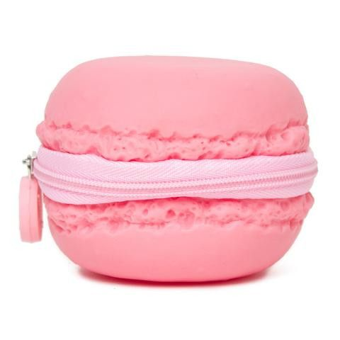 Pink Macaron Coin Purse
