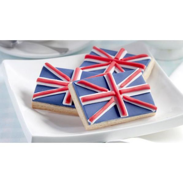 Union Jack Biscuits Recipe