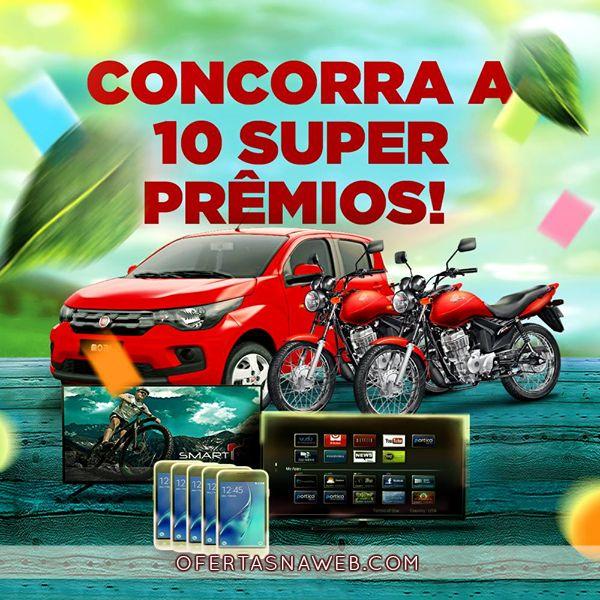 Tem smartphone, moto e até um Fiat Mobi 0km #chimarrão #prêmios #concorra #participar #sorteio #ofertasnaweb