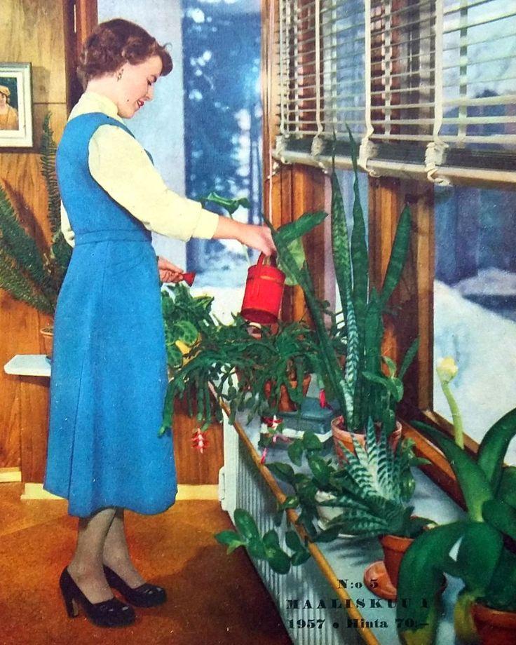 kotiliesi kansi maaliskuu 1957