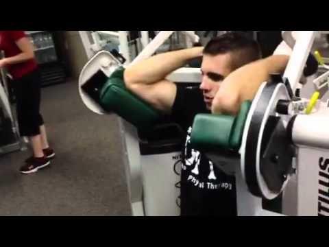 Nautilus Nitro Evo Biceps Curl Machine - YouTube