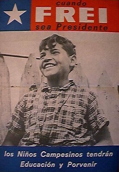 Campaña de Frei 1964.