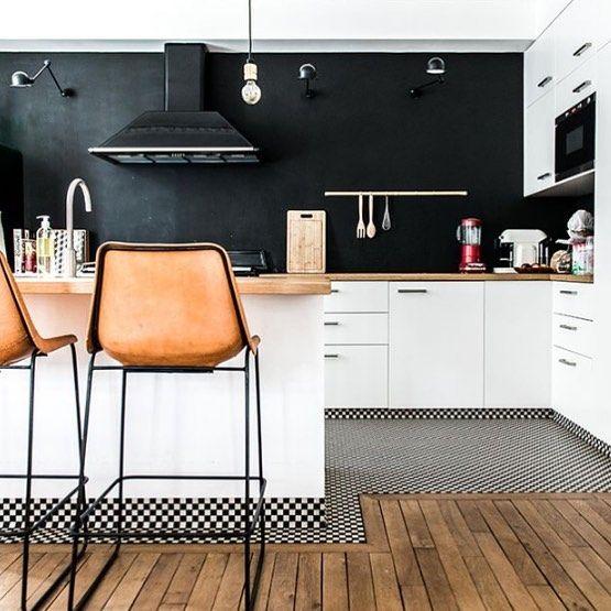 Kitchen inspo. Loving the tan leather. B xx by showandtellonline