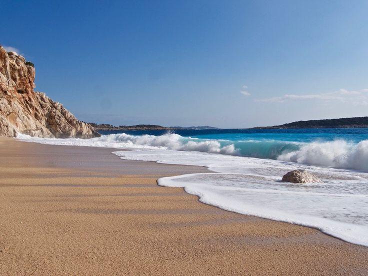Good morning from #Kaputas - amazing tiny beach in 85 km from #Fethiye