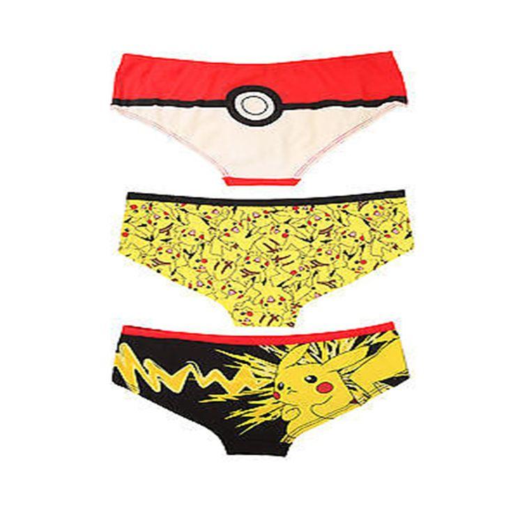 Pokemon Go Sexy Women Panties Briefs Underwear //Price: $10.25 & FREE Shipping //
