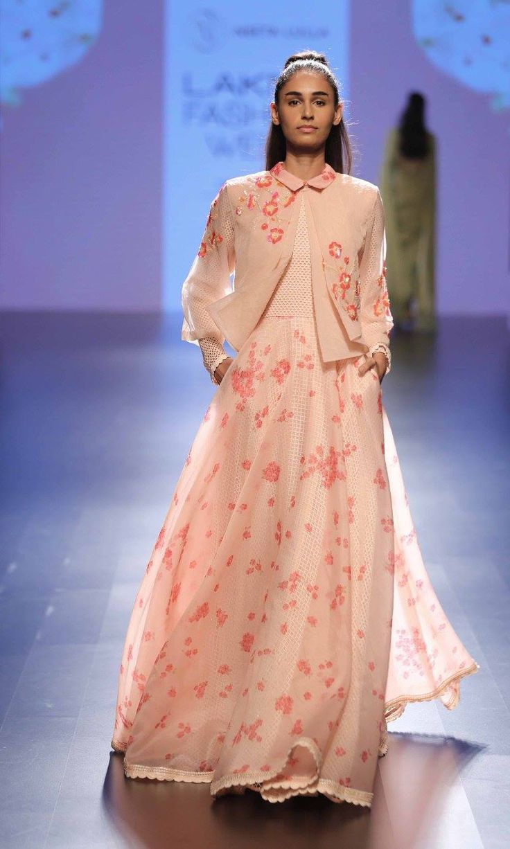 By designer Neeta Lulla. Shop for your wedding trousseau, with a personal shopper & stylist in India - Bridelan, visit our website www.bridelan.com #Bridelan #neetalulla #lakmefashionweek