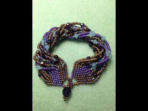 Tapestry Bracelet ~ Seed Bead Tutorials