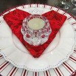 Mesas decoradas para o Dia dos Namorados…