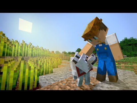 minecraft the movie animation   Life of a Farmer - Minecraft Machinima/Short Film/Movie