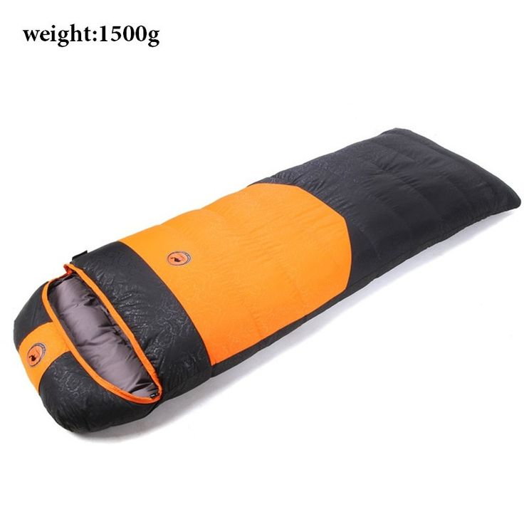 Superior Quality Ultralight Goose Down Waterproof Envelope-Style Sleeping Bag 3 Colors 3 Sizes