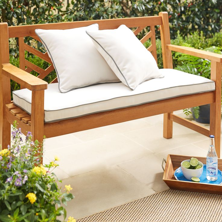 1000 Ideas About Bench Cushions On Pinterest Dining
