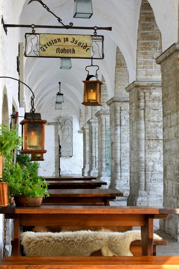 Tristan & Isolde Restaurant at Town Hall Square (Raekoja Plats), Tallinn, Estonia