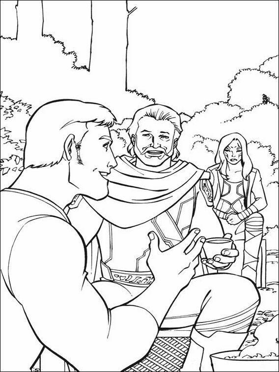 Coloriage Dessins à imprimer pour les enfants Les Gardiens de la Galaxie 22