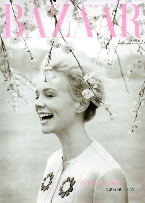 UK Harper's Bazaar June 2013: Carey Mulligan by Tom Allen... gorgeous photo!