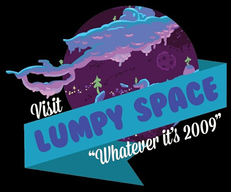 Lumpy Space Tourism Poster