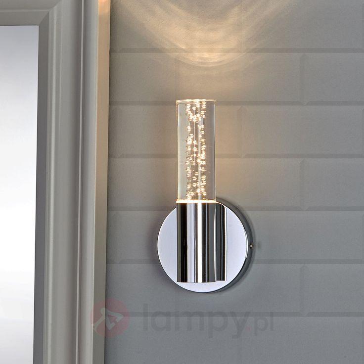 Dekoracyjna łazienkowa lampa ścienna Duncan z LED 9994057