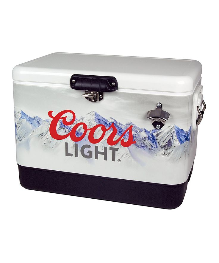 54-Qt. Coors Light Steel Cooler