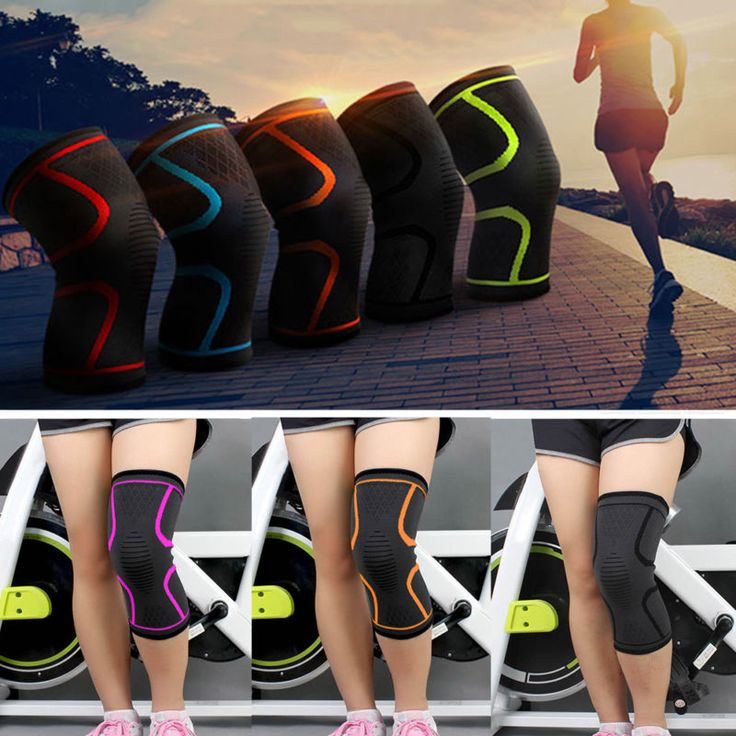 Running Sports Knee Compression Sleeve Joint Pain Relief Patella Support Guard
