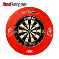 DS16 Red Dragon Dartboard Surround - Red  https://www.reddragondarts.com/det/12439/DS16-Red-Dragon-Dartboard-Surround-Red/
