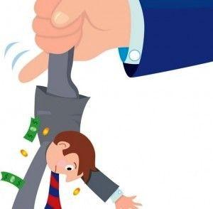 In Italia tasse da record: pressione fiscale al 44,4% del Pil, dieci punti sopra la media Ocse: http://www.lavorofisco.it/?p=18786